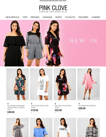 Need new clothes? We got you covered.. Check out  N E W  I N