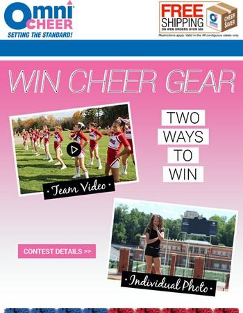 Win Free Cheer Gear!