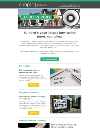 Landlord Voice: Your latest buy-to-let news round-up