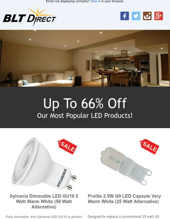 Popular LED Light Bulbs