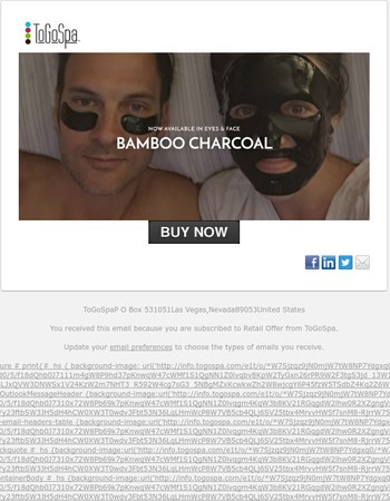 Bamboo Charcoal FACE is HERE!
