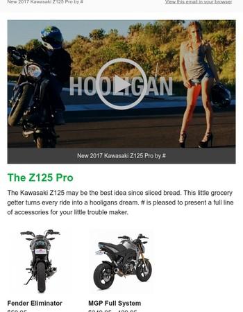 Kawasaki Z125 Pro by Hotbodies Racing