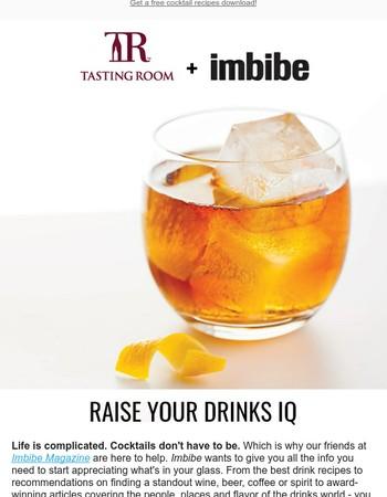 Easy, 4-step cocktails + 50% off Imbibe Magazine