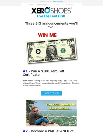Win a $100 Xero Gift Certificate and a bunch more...