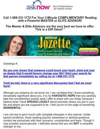 Mary, Courtesy 3-min Elite Love Reading on me!
