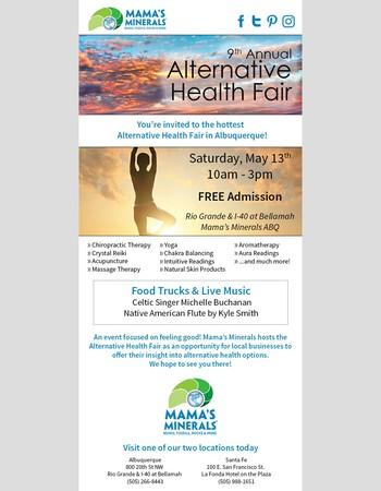 Don't Miss the Hottest Alternative Health Fair in ABQ!