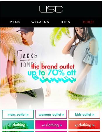 Saturday Savings! Up to 70% OFF Big Brands!!!