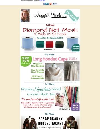 Our Favorite Crochet + Daily Deal, Winner & FREE Pattern