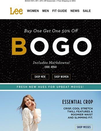 Drop Everything. Go BOGO!
