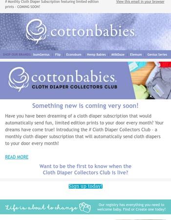 Cloth Diaper Subscription COMING SOON!