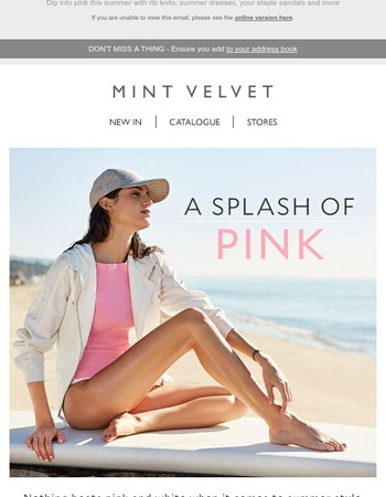 Think in pink this summer