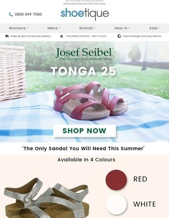 Josef Seibel Tonga Sandals - Style Of The Week!