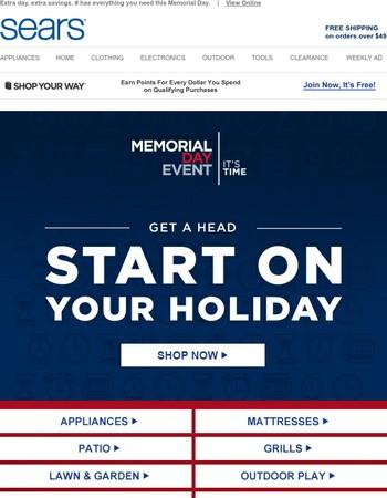 Your Memorial Day weekend (savings) plan
