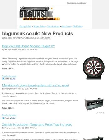 New Products on bbgunsuk.co.uk