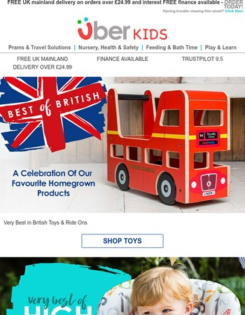 Best of British toys