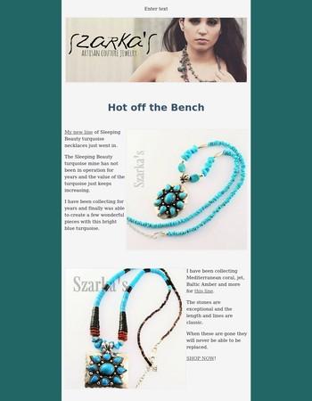 Sleeping Beauty Necklaces