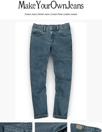 Second Skin Blast Wash Stretch Jeans - Look #651