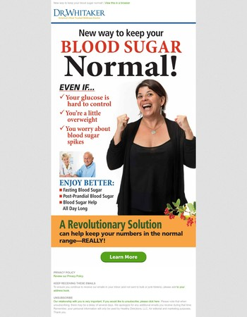 Blood Sugar Concerns? Read this immediately!