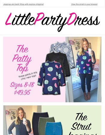 New Fun Separates & Zipper Dresses!
