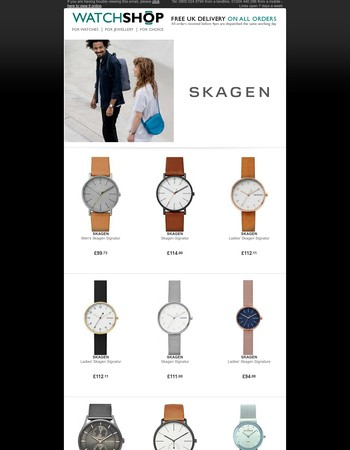 Classic Danish Minimalism - Shop Skagen Now