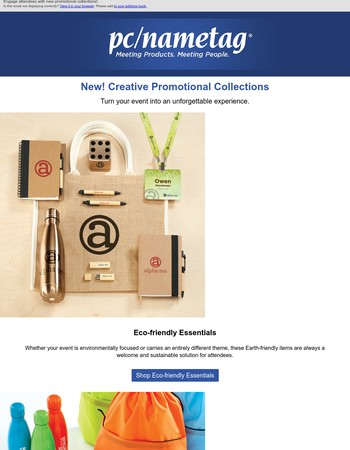 Check out our 3 favorite promotional collections