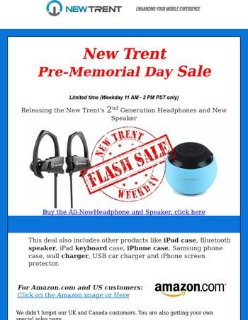 Pre-Memorial Day sales
