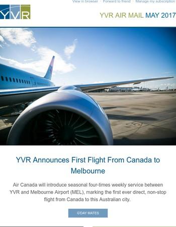 YVR Air Mail May 2017