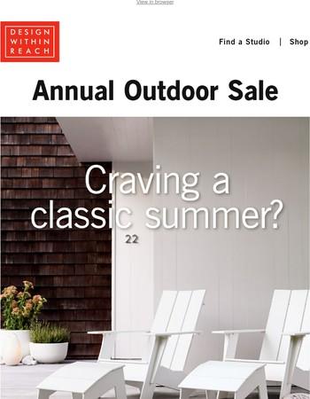 On Sale: Outdoor Classics