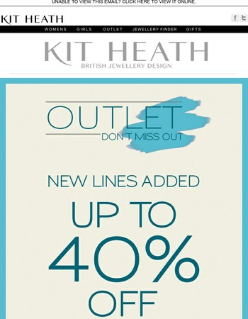 OUTLET - new lines added
