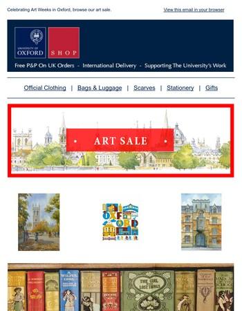 Art Sale & New Clothing