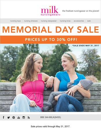 Mary, Shop Memorial Day SALE - Up to 30% OFF!