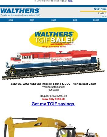 Don't miss the TGIF sale!