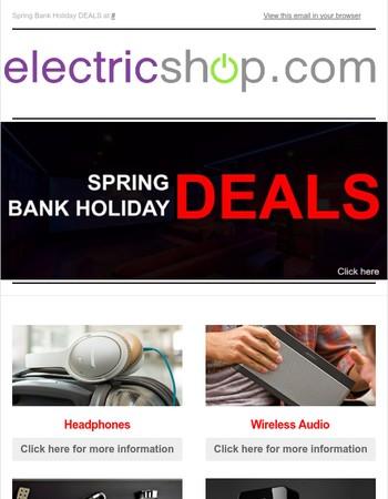 Spring Bank Holiday Deals