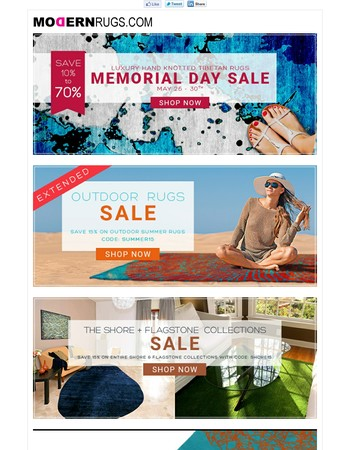 Memorial Day Savings to Remember, Save up to 70% OFF!