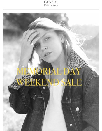 Memorial Day Buy More Save More