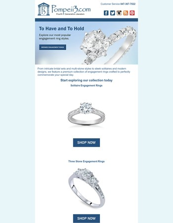 To Have and To Hold - See Our Most Popular Engagement Rings