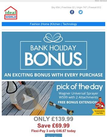 SUPER Saturday Deals - MEGA Bonus Buys!