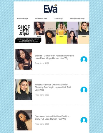 Shop Instagram Hot Hairstyles, Price Starting from $169.