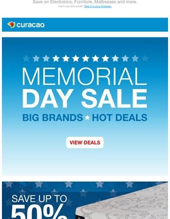 Memorial Day Weekend Sale! Big Brands - Hot Deals