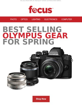 Best Selling Olympus Gear