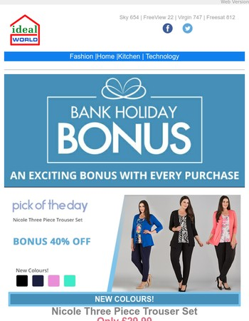 BONUS Buys on G-tech - Fashion - Home & More!