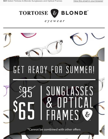 Put on your whites, and stock up on some new specs!