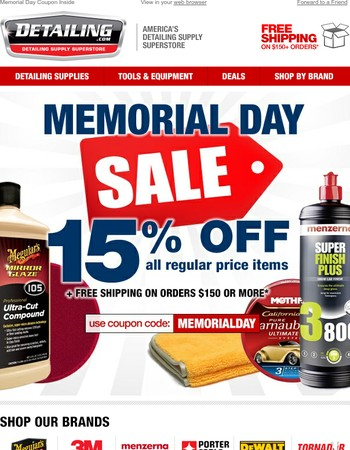 ⭐ Memorial Day Sale Ends Tomorrow! ⭐