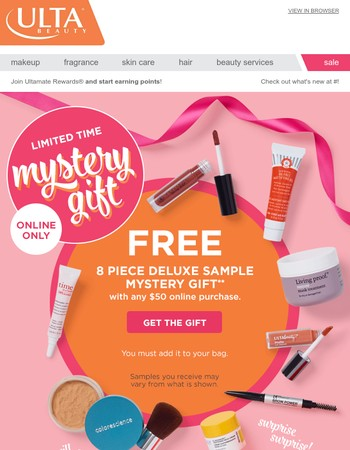 Ulta Newsletter