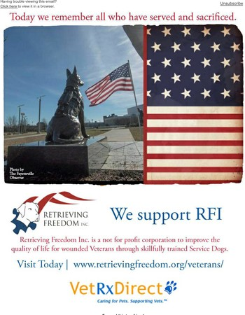 Today We Remember | We Support RFI