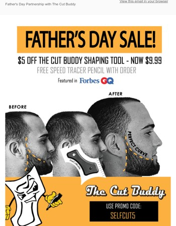 Father's Day Special By The Cut Buddy