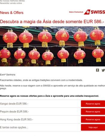 Descubra a magia da Ásia desde somente EUR 586.-