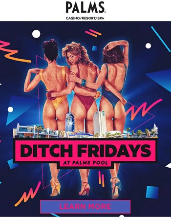 Ditch Friday and Join Us!