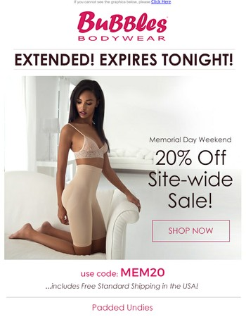 20% Off EXTENDED One Day! #LoveMyBubbles