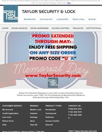 Free Standard Shipping Promo Code